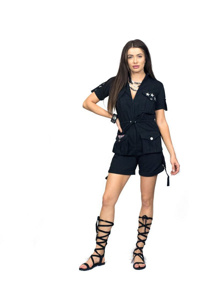LITTLE WING JUMPSUIT SHORTS
