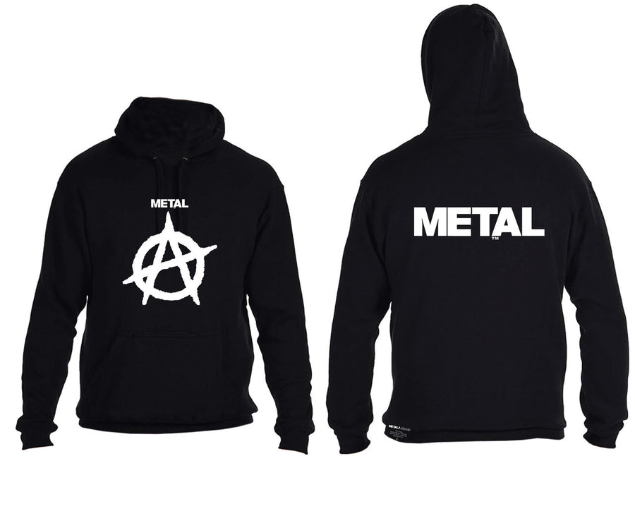 Girls METAL Anarchist Hoodie
