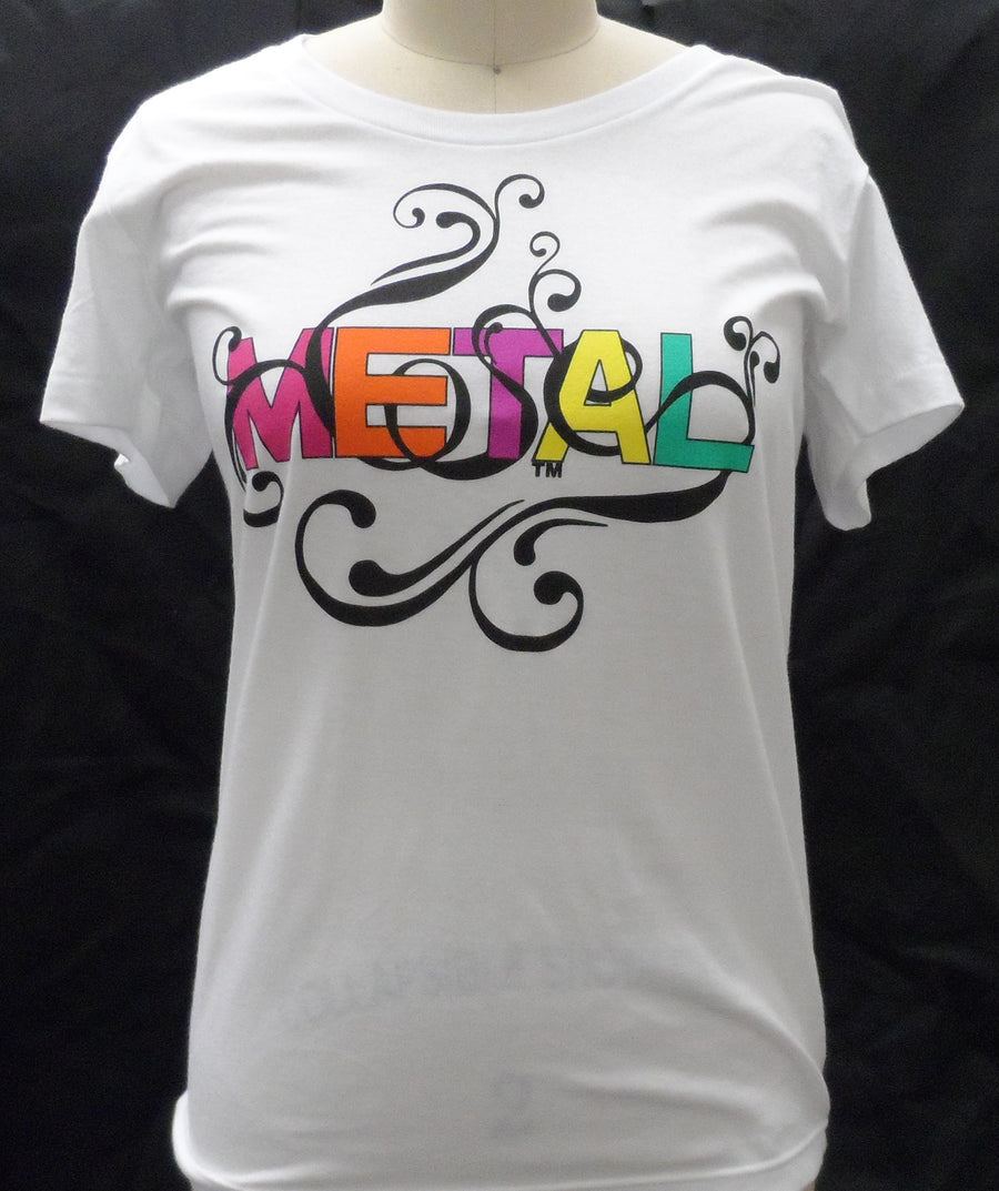 Metal Colorful Logo - T-Shirt - Women's