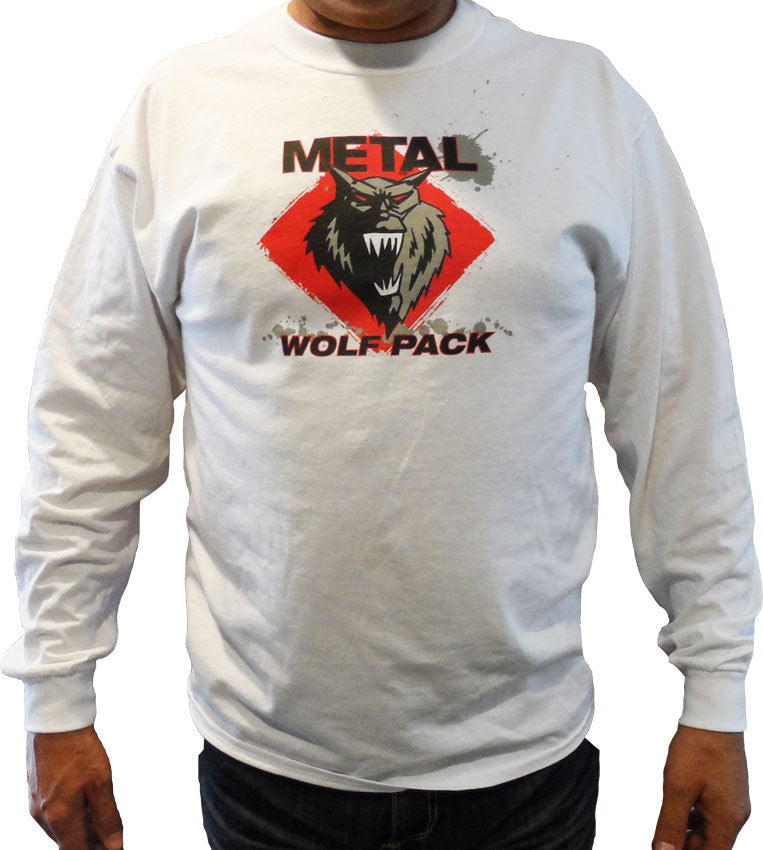 Men's METAL - WOLF PACK Logo - Long Sleeve