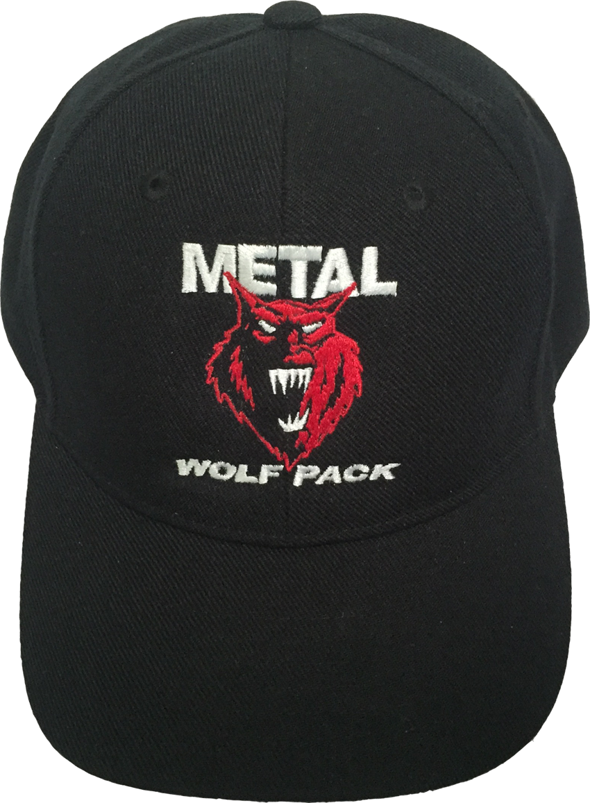 Metal Wolf Pack Cap