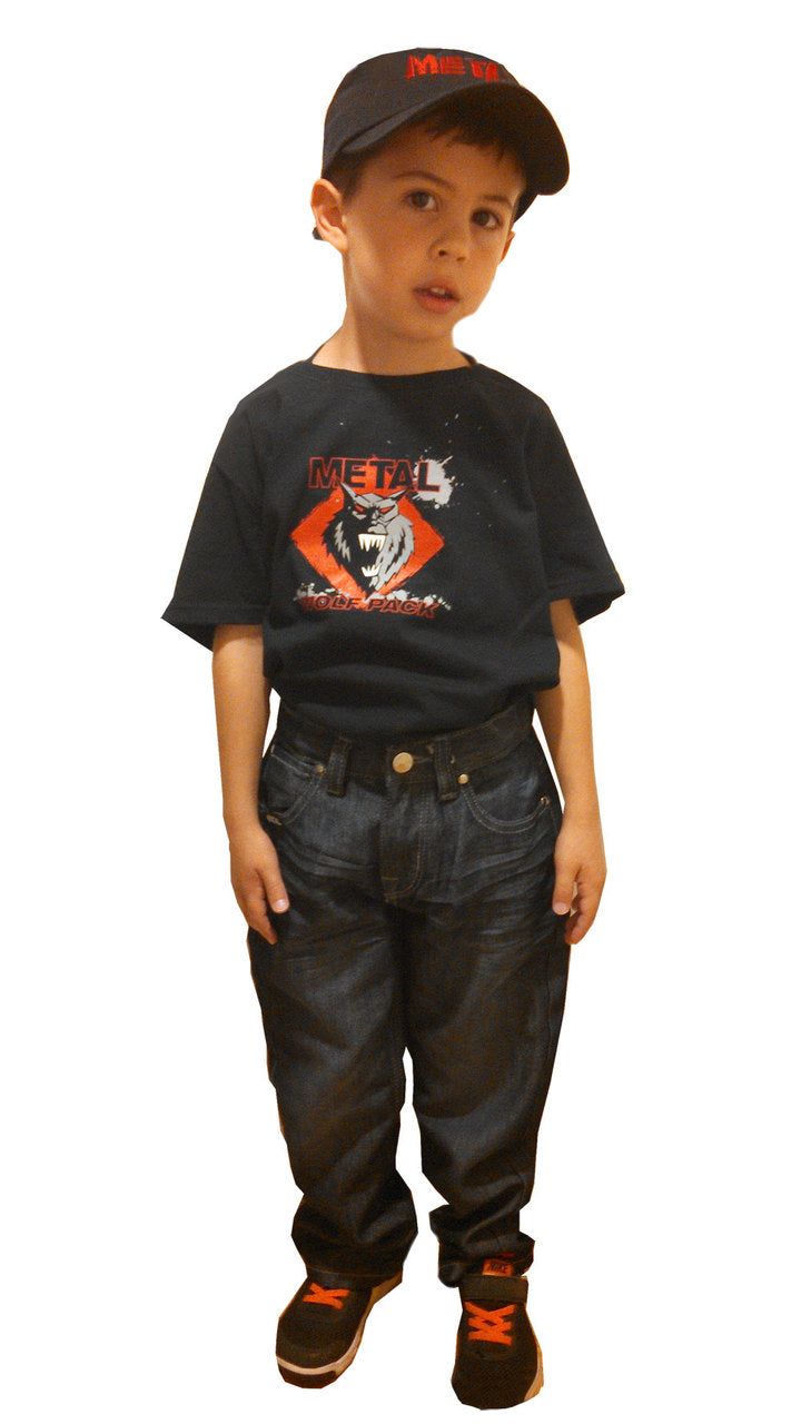 Boys METAL - Wolf Pack Logo T-Shirt