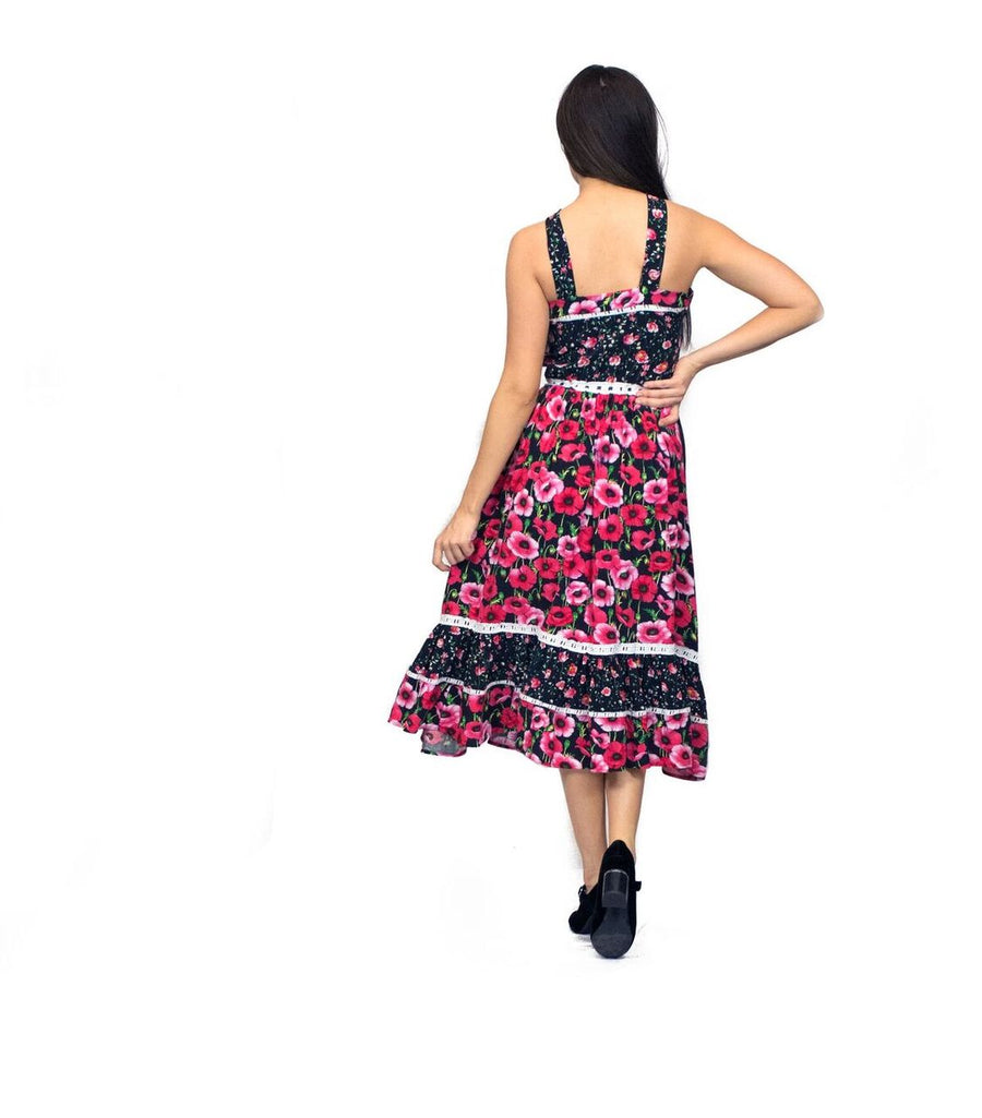LITTLE WING FLORAL DRESS