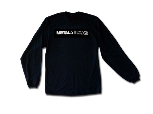 Men's METAL Star Jeans Logo Long Sleeve