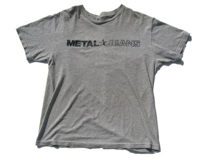 Men's METAL Star Jeans Logo T-Shirt