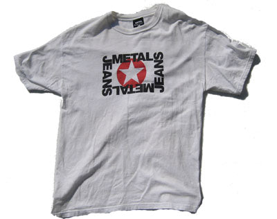 Men's METAL Star Logo T-Shirt
