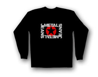 Men's METAL Star Logo Long Sleeve
