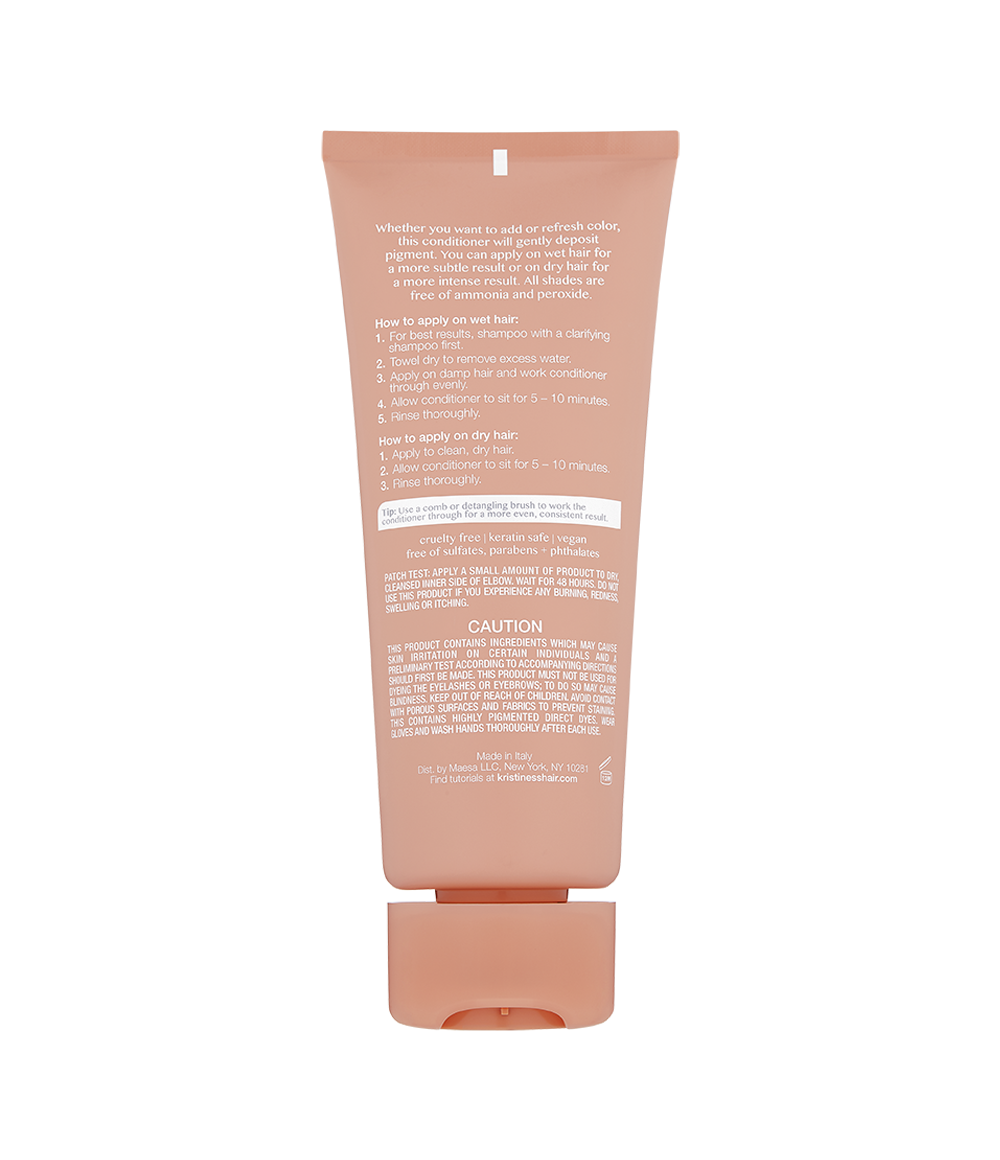 Color Depositing Conditioner - Coral Rose