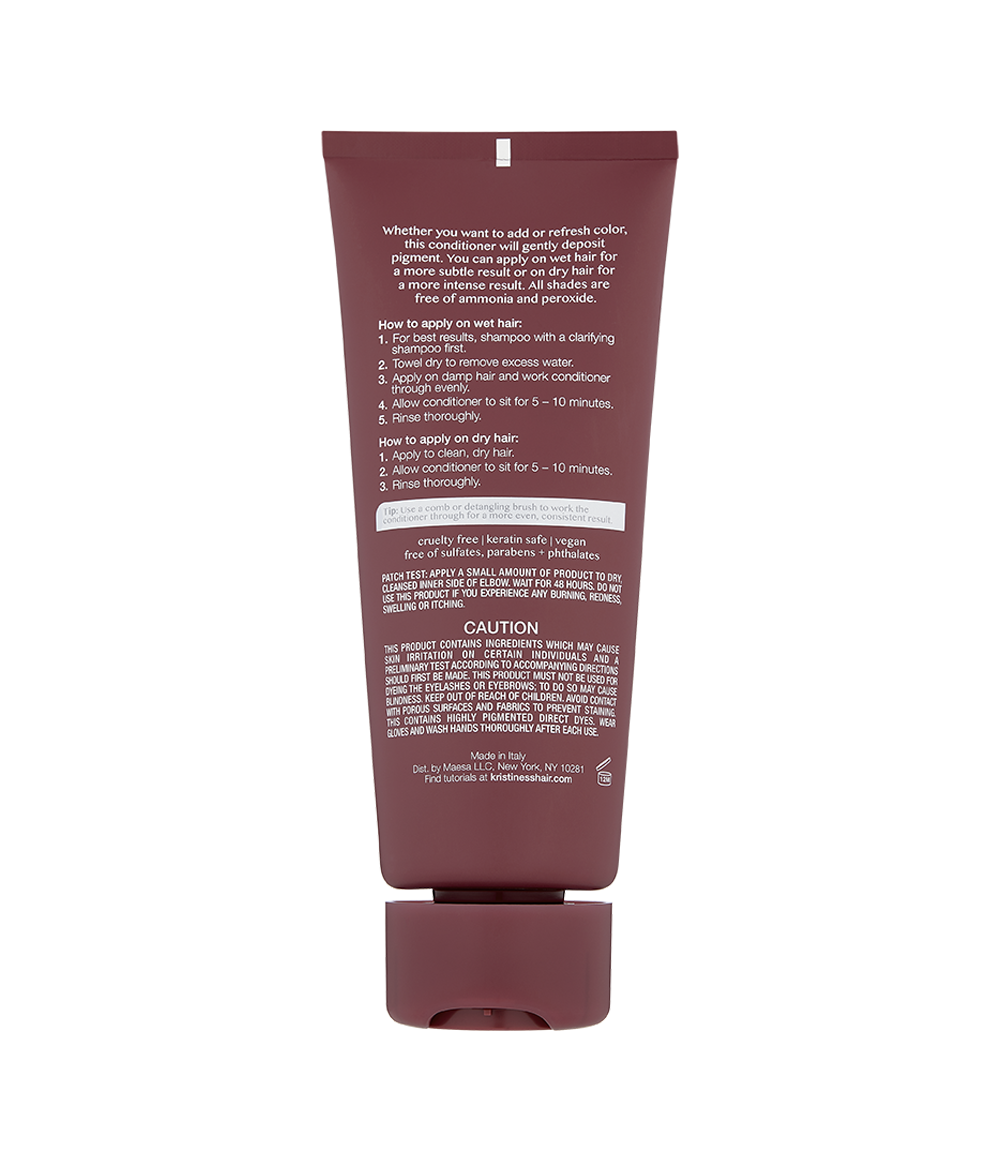 Color Depositing Conditioner - Dark Mauve