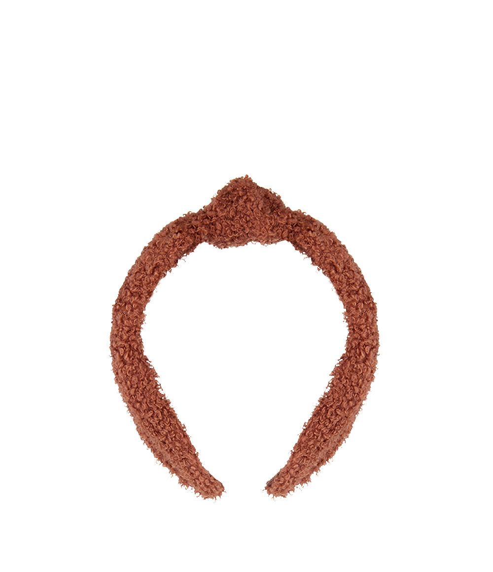 Cozy Headband Rust
