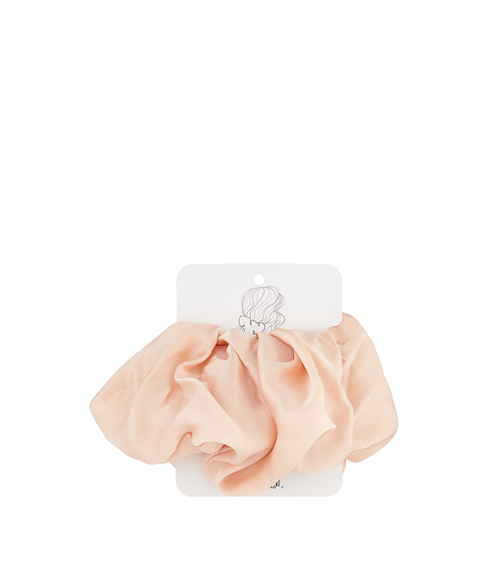 Oversized Satin Scrunchie Blush