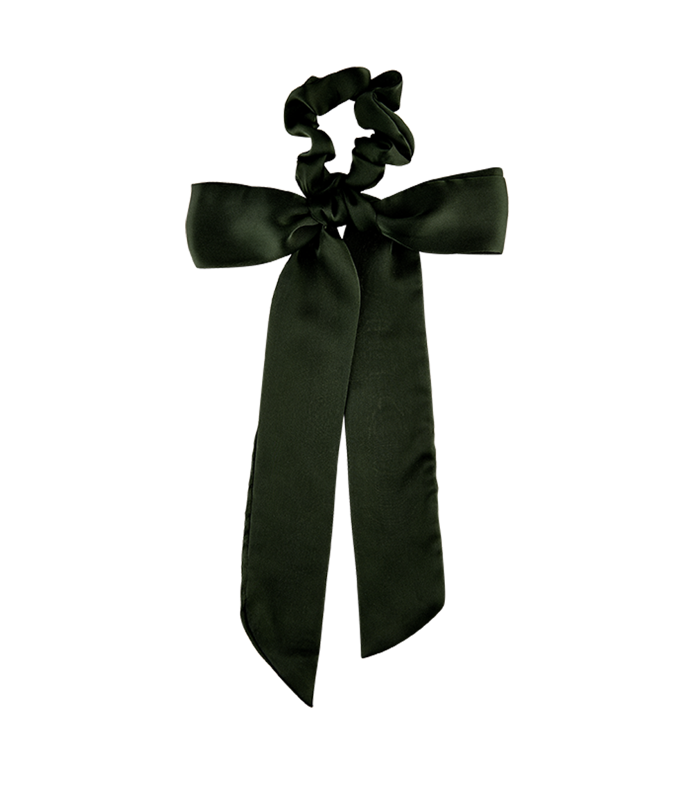 Scrunchie + Scarf Set Emerald