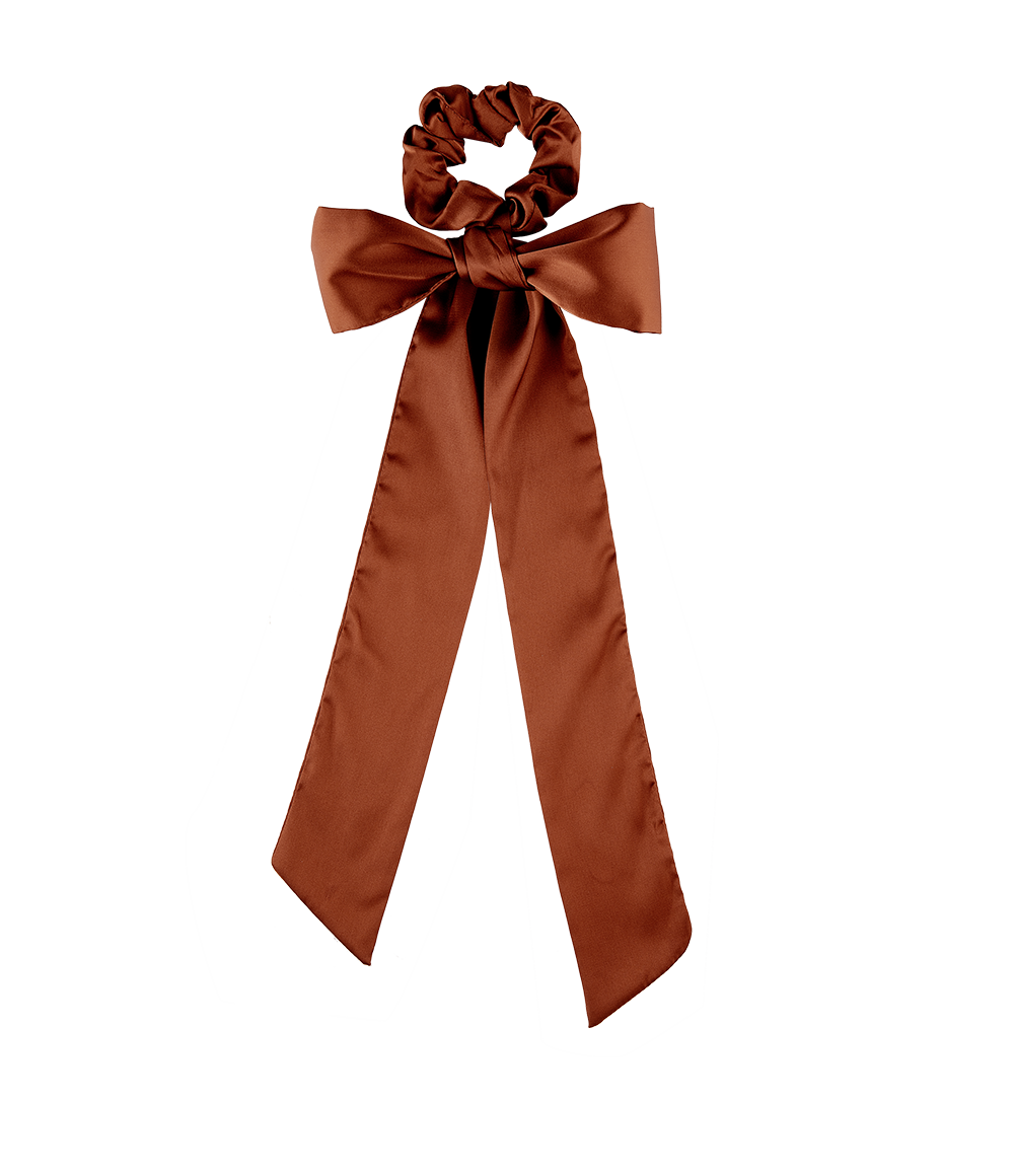 Scrunchie + Scarf Set Rust