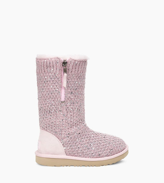 UGG classic tall SEQUIN ROZE *