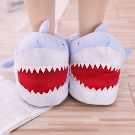 ADORABLE SOFT AND FLUFFY ANIMAL FUN INDOOR SHOES