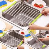 AMAZING ROLL UP DISH DRYING RACK