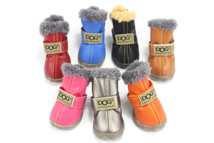 COZY WARM DOG WINTER SHOES