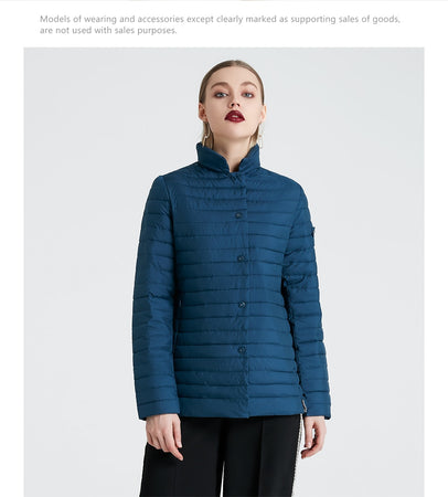 STYLISH WINDPROOF WOMEN'S QUILTED JACKET