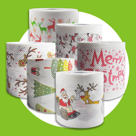 TRENDY CHRISTMAS TOILET ROLL PAPER