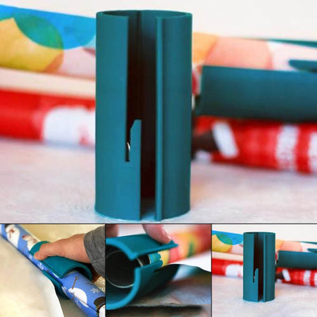 FUN AND EASY GIFT WRAPPING PAPER CUTTER TOOL