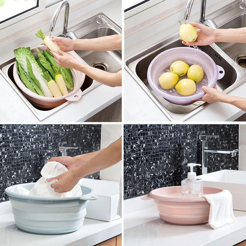 BEST SELLING MULTI-PURPOSE COLLAPSIBLE WASH BASIN