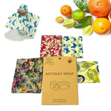 ECO-FRIENDLY REUSABLE ALL NATURAL BEESWAX FOOD WRAP