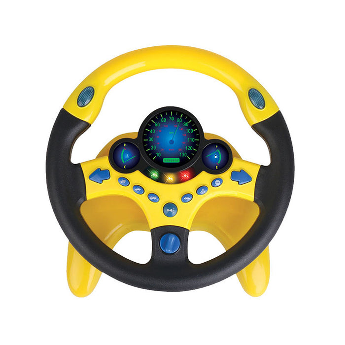 FUN AND EDUCATIONAL SIMULATION STEERING WHEEL