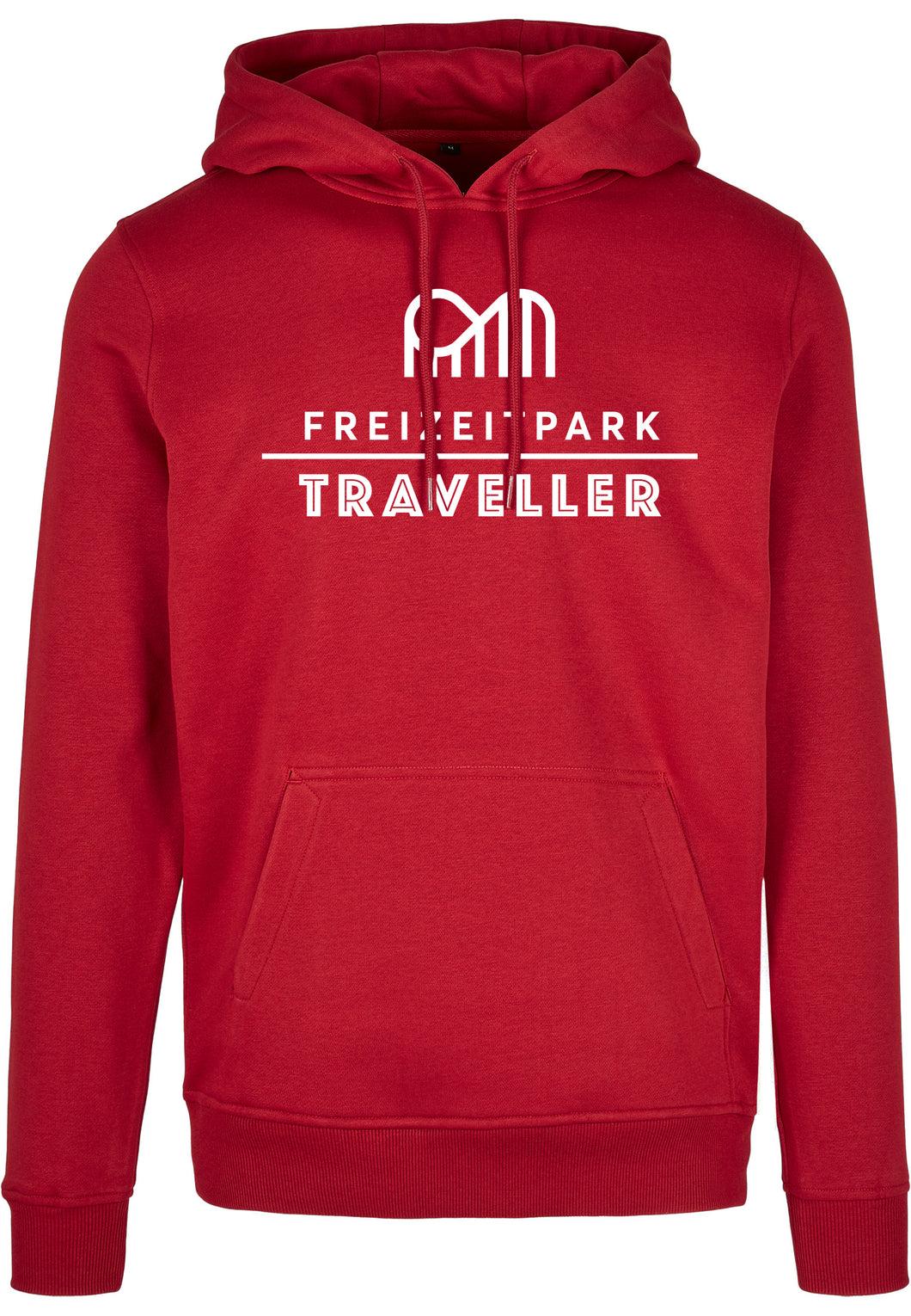 Hoody Freizeitpark Traveller Rot / Club Edition