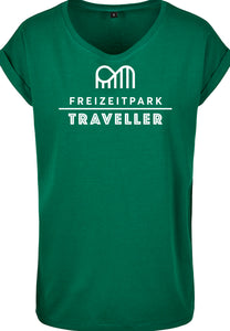 T-Shirt Frauen Forest Green