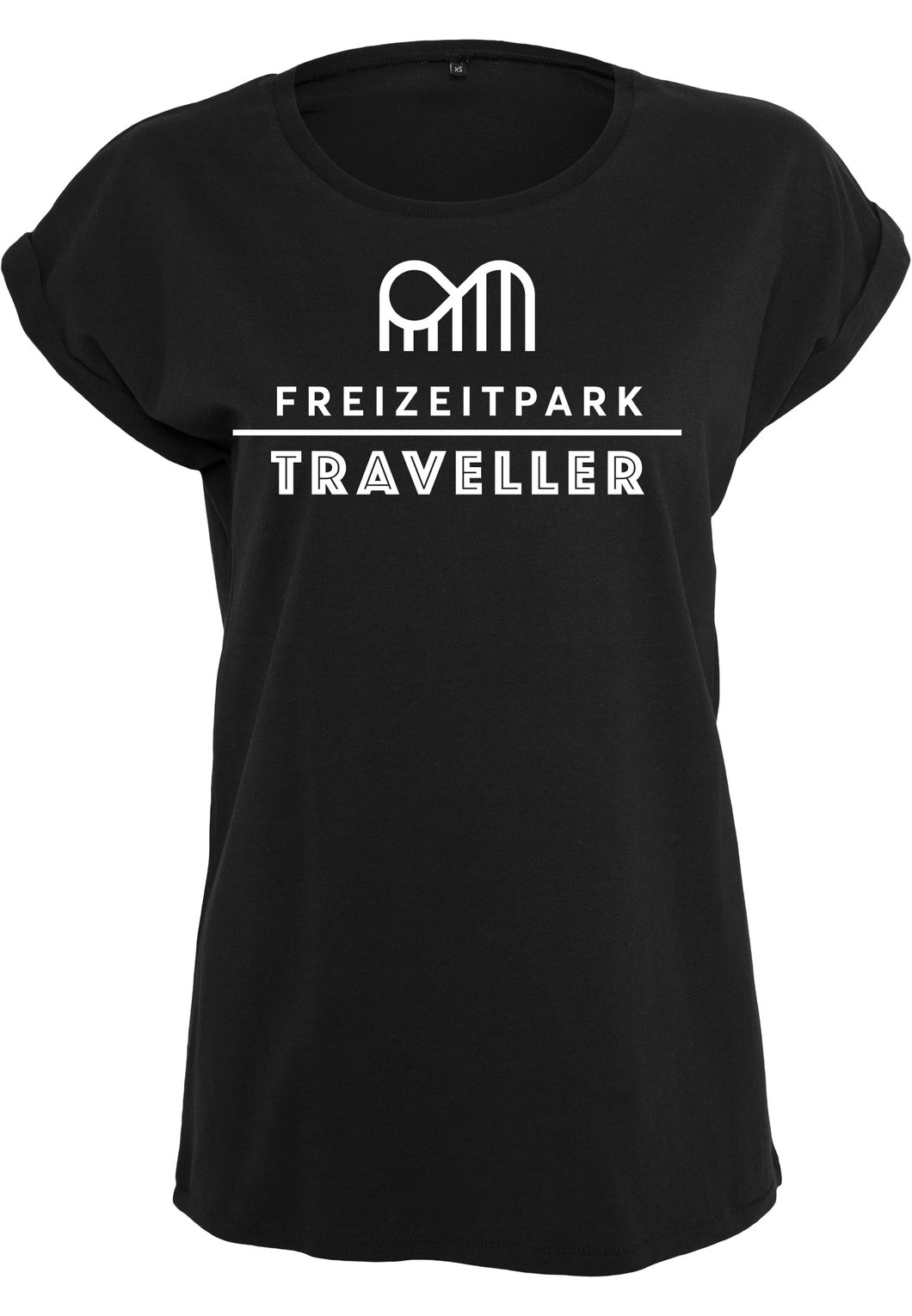 T-Shirt Frauen Infinity Black