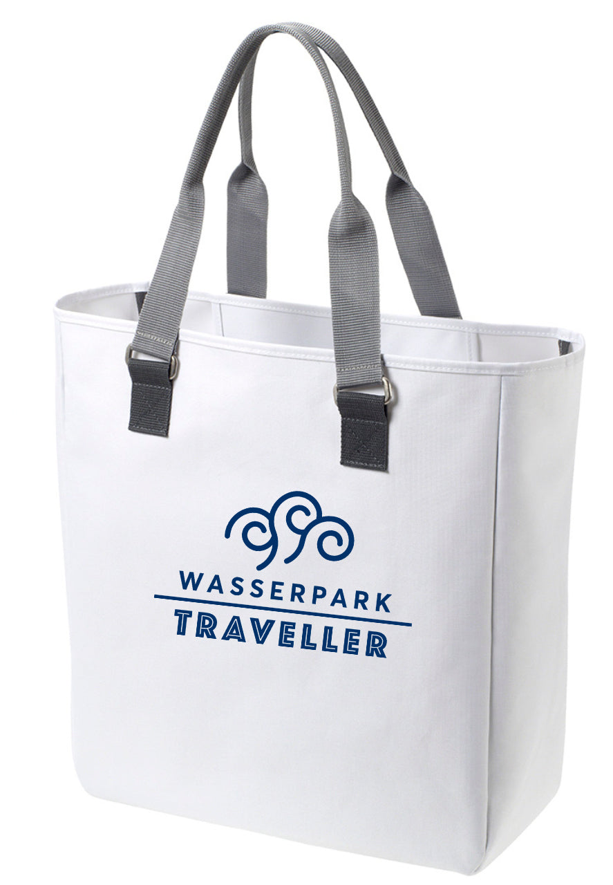 Wasserpark Traveller XXL Shopping Bag White