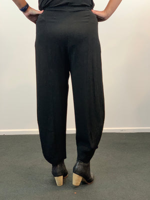 Pouch Pants - Black