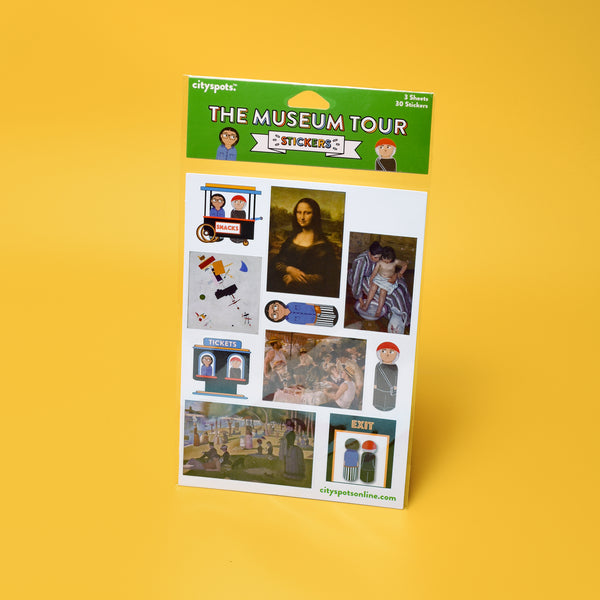 The Museum Tour Sticker Pack, Classics Edition