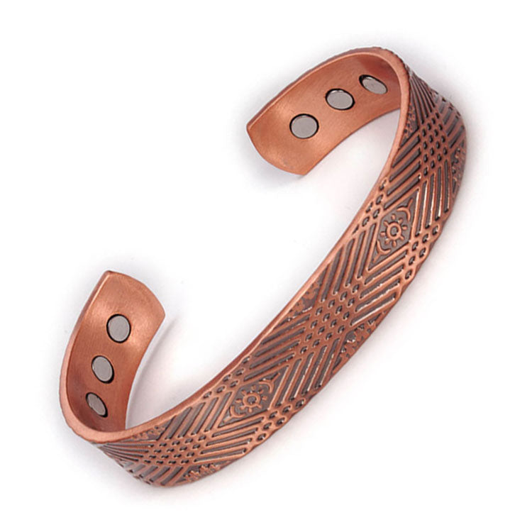 Energy Copper Magnetic Bracelet_CBG052