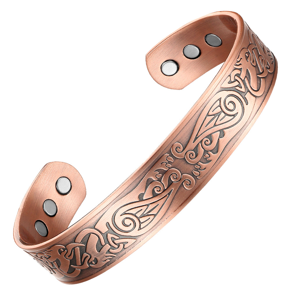 Energy Copper Magnetic Bracelet_CBG355