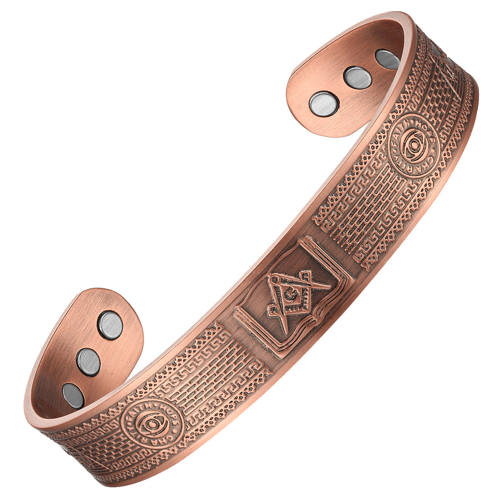 Energy Copper Magnetic Bracelet_CBG397