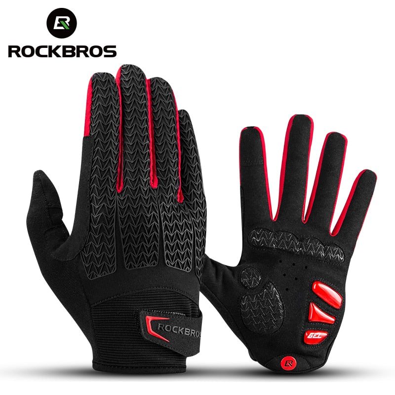 Windproof Cycling Gloves Touch Screen Riding MTB Bike Bicycle Gloves Thermal Warm Motorcy