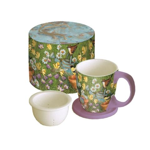 Garden Pots Tea Cup Set