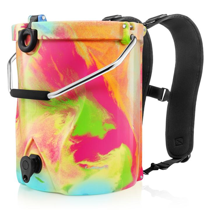 BACKTAP BACKPACK COOLER RAINBOW SWIRL