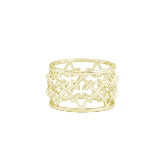 BELIEVER GOLD RING SIZE 7