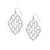 BELIEVER SILVER  SMALL DROP EARRINGS