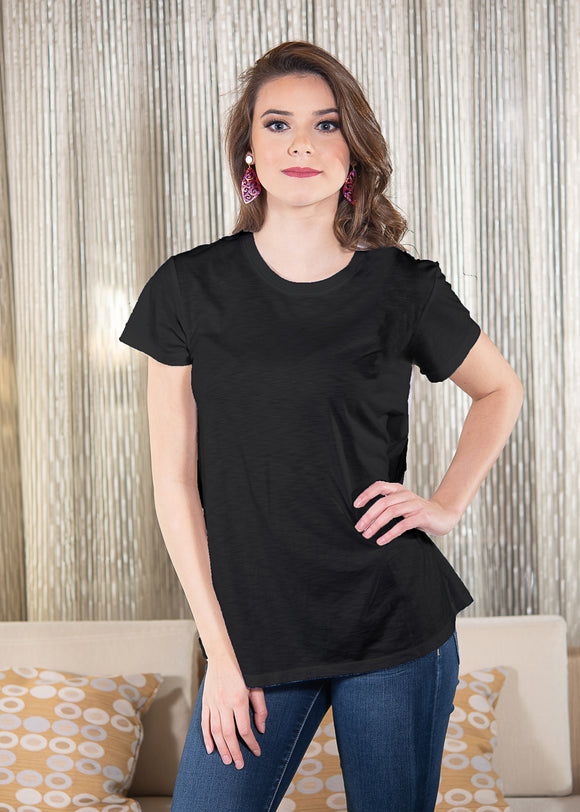 LUXE T-SHIRT – BLACK