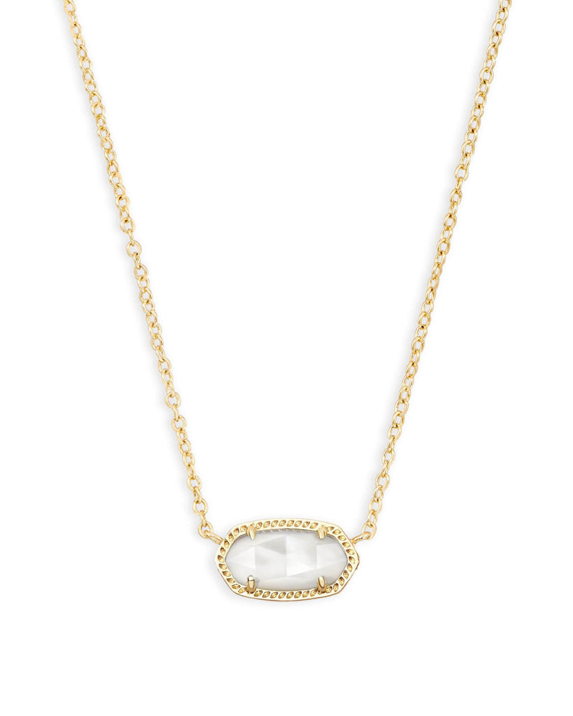 Elisa Necklace in Gold Ivory MOP