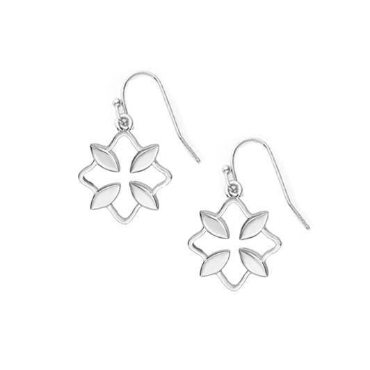 GRACE SILVER MINI DROP EARRINGS