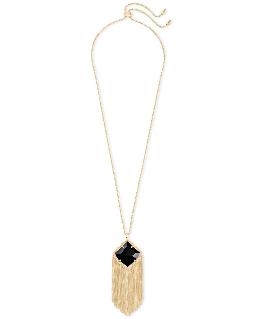 Kingston Necklace in Gold Black