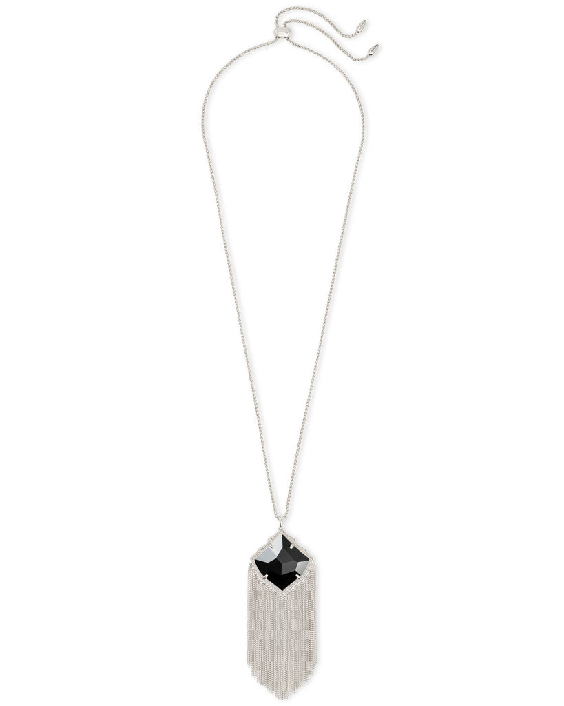 Kingston Necklace in Rhodium Black
