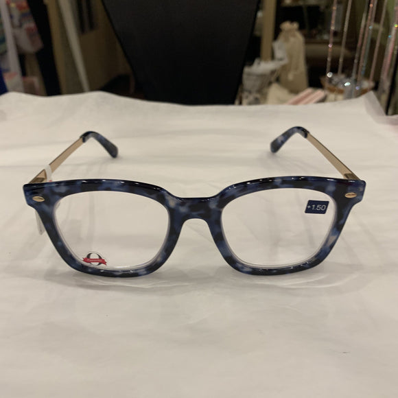 Peepers Navy Readers