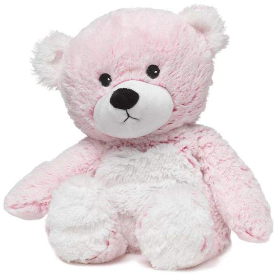 "Pink Marshmallow Bear Warmies (13"")"