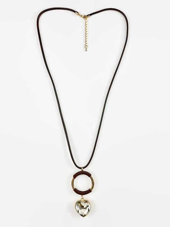 Necklace With O Pendent