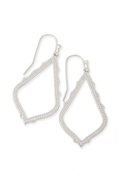 Sophia Earring in Rhodium